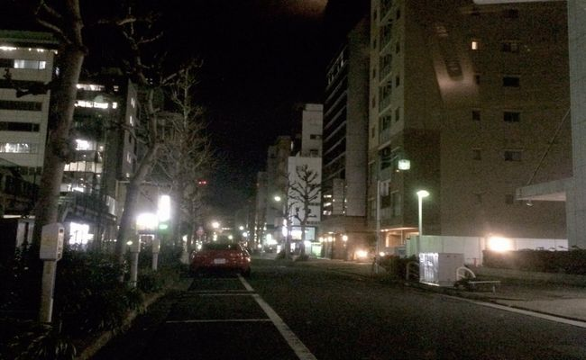 福岡市内の駐車場で人妻と待ち合わせ