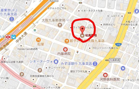 松島新地の場所