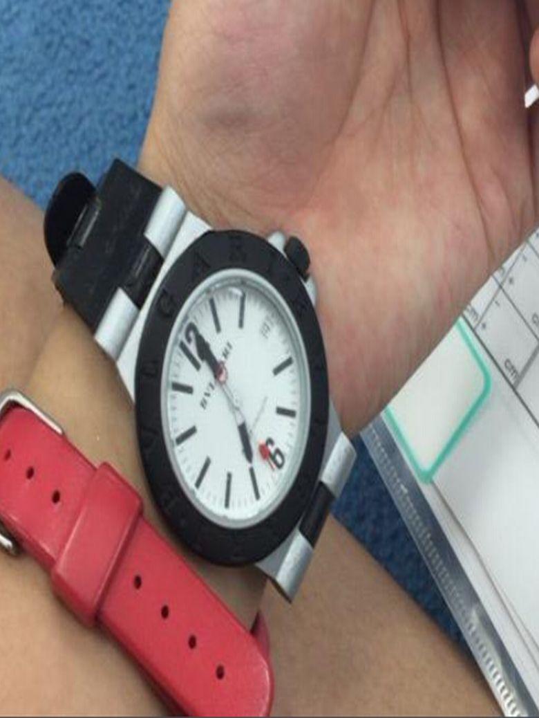 腕時計型小型カメラ