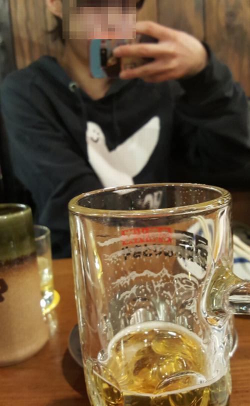 セフレと新宿の個室居酒屋でデート